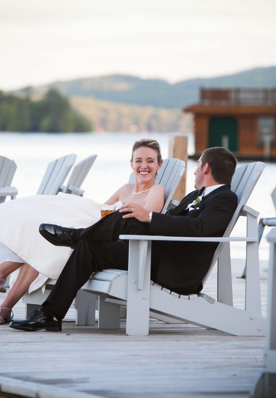 Lake George Club wedding